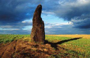 Menhir Kamenný muž, Kamenný pastýř